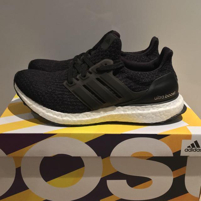 Women Adidas Ultra Boost 3.0 Core Black aae8cc314e