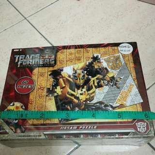 Transformers 60pcs Jigsaw