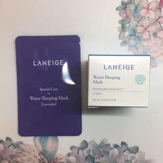 Laneige Water Sleeping Mask 20ml + Lavender Sample