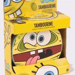 海綿寶寶鈴鼓 SpongeBob Tambourine
