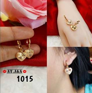 Anting Xuping Lapis Emas 18k