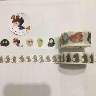 Washi Tape - Friends Of Ghibli Edition! Last 2 Pieces!