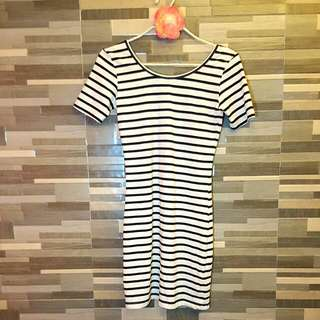 Dress Bodycon Stripes (Forever21)