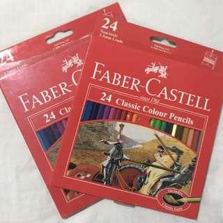 Faber Castell 24 Classic Color Pencil