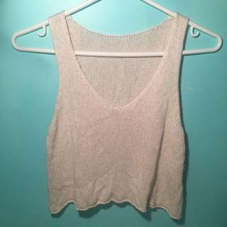 Brandy Melville Knit Crop Top