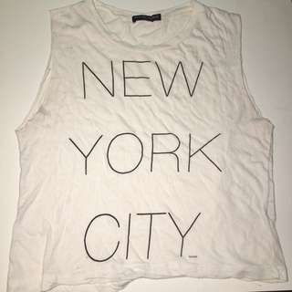 Brandy Melville New York Tank