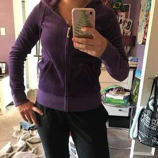Juicy Couture Sweater-purple