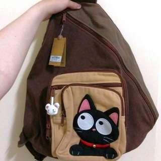 貓咪肩背包