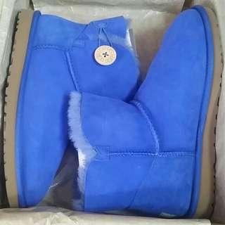 Mini Bailey Blue UGG Boot
