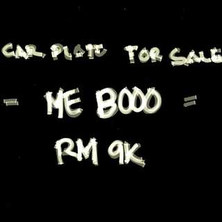 "( CAR PLAT FOR SALE """""" ME 8000 """"""  )"