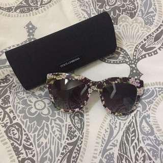 Dolce & Gabbana Flower Sunglasses