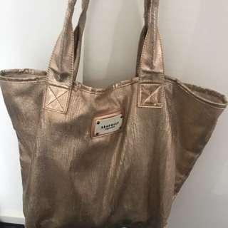 Seafolly Rose Gold Bag