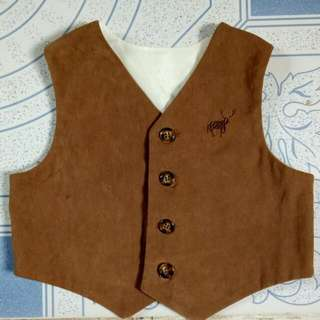 Brown Vest For Baby