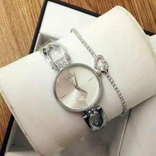 CK Watch and Bracelet (Swipe Left)
