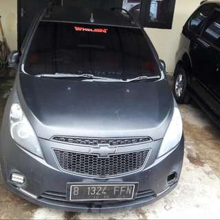 Chevrolet Spark LT 1.2 manual 2010 Hitam