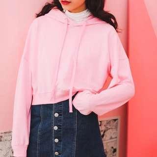 [PO] Minimalist Crop Pullover