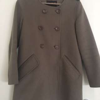 Warm Wool Women Coat