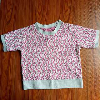 Pink Square Tee