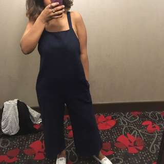Oak And Fort Navy Romper
