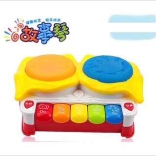 🚚 寶寶益智早教拍拍琴  多功能音樂琴
