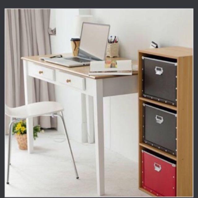 北歐高質感雙抽電腦桌/書桌/辦公桌(100CM)