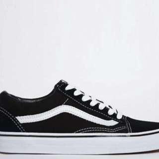 Vans Old Skool Black/White