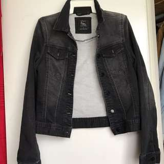 Cotton On Black Denim Jacket