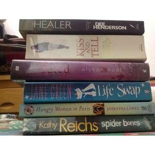 Books (Prices vary)