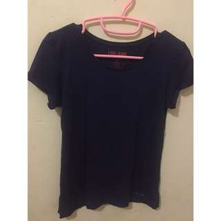 Logo Jeans Top Dark Blue