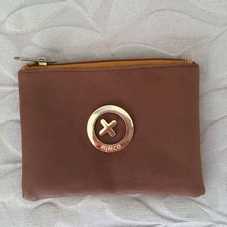 Mimco Burgundy Nude Small Purse