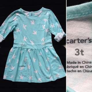 (3T) Carter's Dress👗