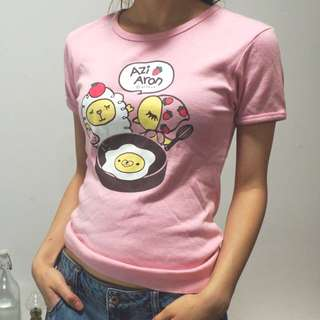 Cute pink Tshirt from Japan