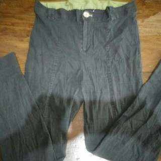 Black Stretchable Pants