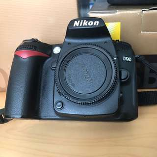 Nikon D90 With Prime Lens And Accessories