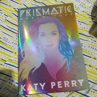 [OFFICIAL TOUR MERCH] Katy Perry Prismatic World Tour Program Book