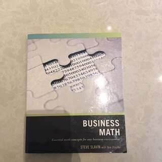 BUSINESS MATHS TEXTBOOK