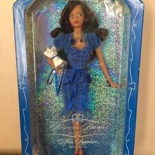 Birthstone beauties Miss Sapphire Barbie