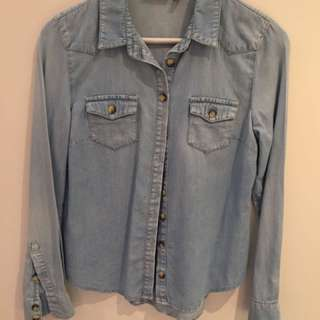 Topshop Denim Shirt