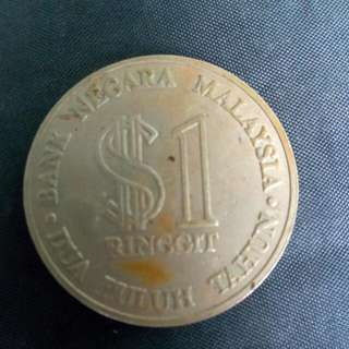 $1 Ringgit Coin