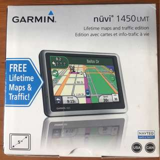 Garmin Nuvi 1450 LMT (USA/CAN maps)