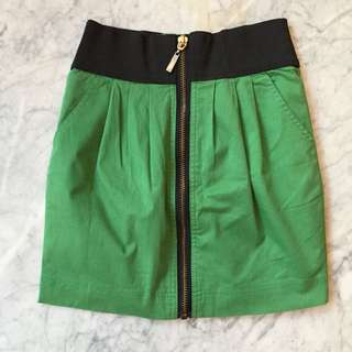 Mini Skirt In Green