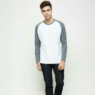 SALE Cole Men's Long Sleeve Raglan Tee