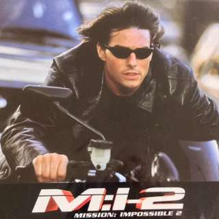 """MISSION IMPOSSIBLE 2 (2000) 12 French Movie Lobby Cards 8.25"""" x 10.75"""""""