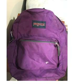 Jansport purple backpack