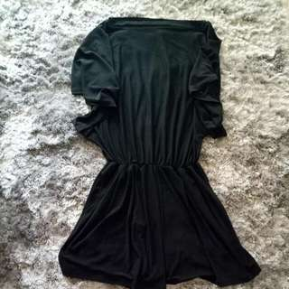 Jumpsuit Hitam Sabrina (Recomended)