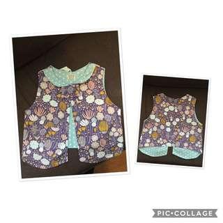 100% Cotton Waistcoat Handmade In New Zealand
