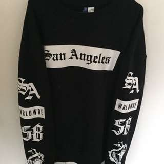 Black Divided Jumper