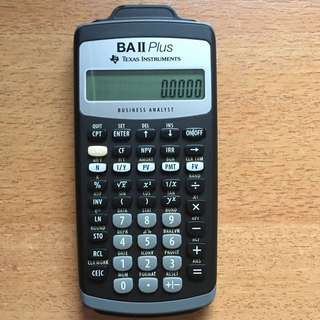 Financial Calculator BA Two Plus NBS AB1201