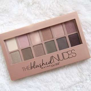 The BLUSHED Nudes Maybelline