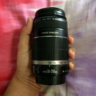 Canon Zoom Lens EF-S 55-250mm